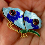 Le Grand Papillon Enamel Brooch