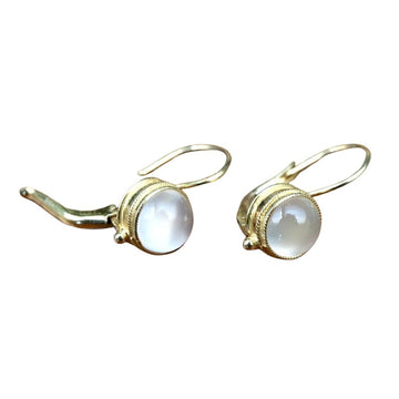 Meg Pepperidge Moonstone Earrings