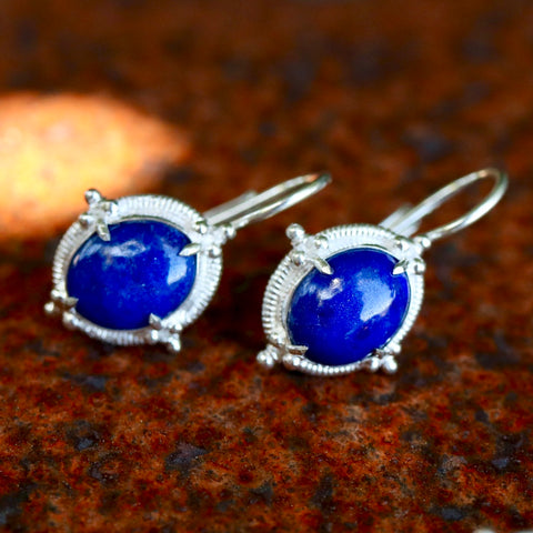 Ligurian Lapis Earrings
