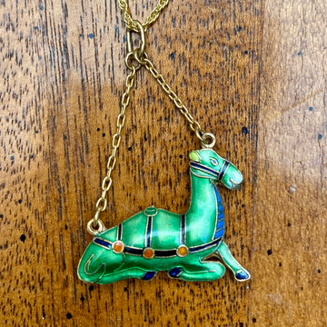 Vintage Shashi Camel Necklace