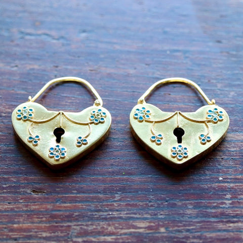Key To My Heart Earrings