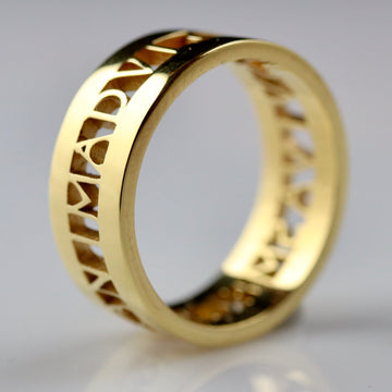 Anima Roman Ring - Gold