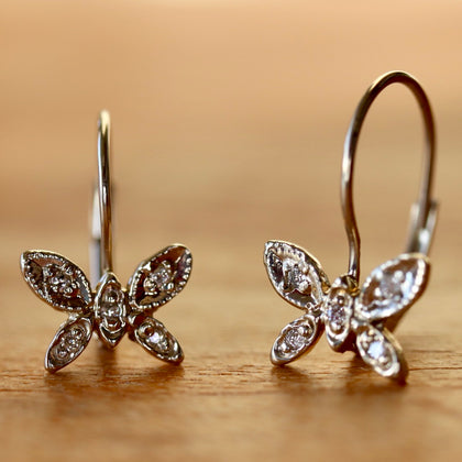 Le Papillon Diamond Earrings