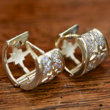 14k Diamond Sirius Earrings
