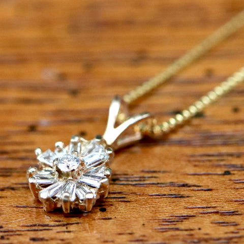 Evening Magic Diamond Necklace