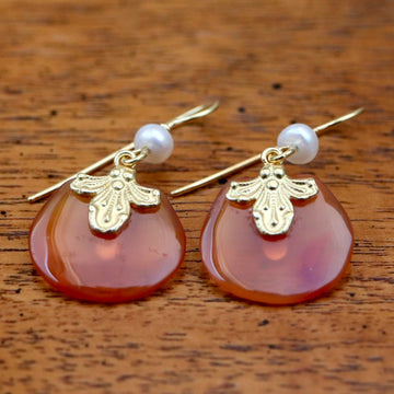 Carnelian Celebration Earrings