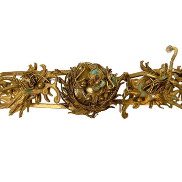 Antique Qing Dynasty Tian-Tsui Tiara 200622-K