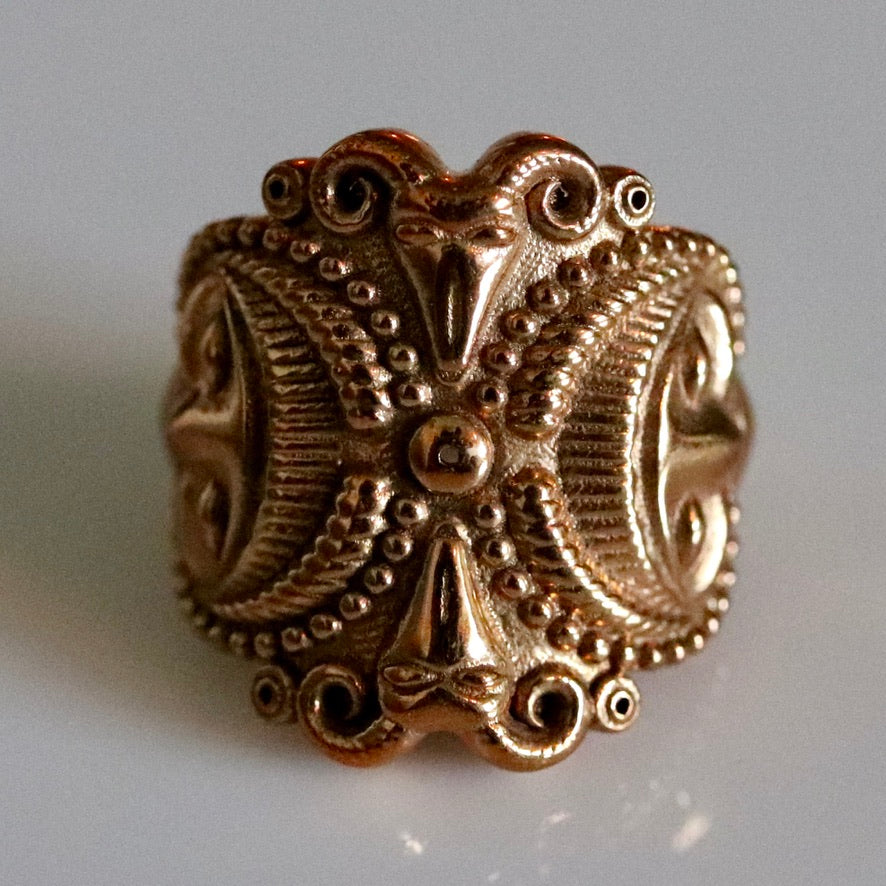 Splendor of the Celts Ring - Brass