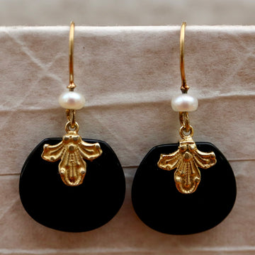 Onyx Occassion Earrings