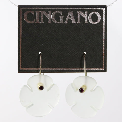 "4 Leaf Clover ""Gettin' Lucky"" Earrings"