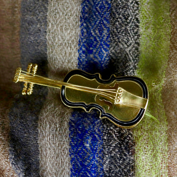 Stradivarius Violin Brooch