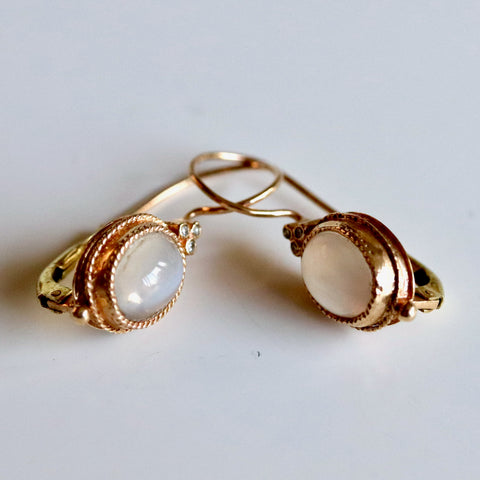 Cinderella Gold Earrings
