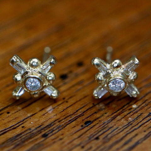 Venus Diamond Earrings