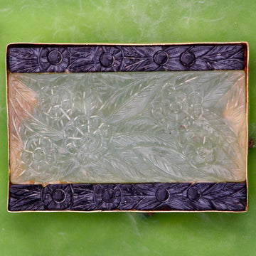 Field of Flowers Rectangular Brooch