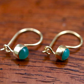 Isadora Emerald Earrings