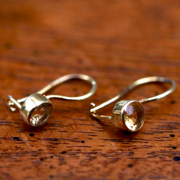 Isadora Citrine Earrings