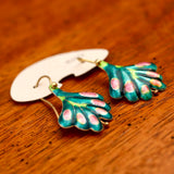 Vintage Shashi Frond Earrings
