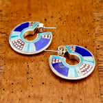 Vintage Laurel Burch May the Fourth Earrings