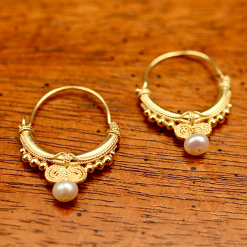 Sheherazade Pearl Earrings