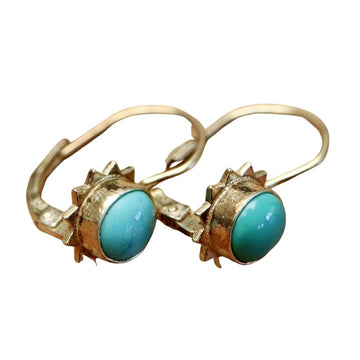 Turquoise Rapture Earrings