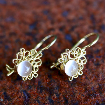 Contessa Moonstone Earrings