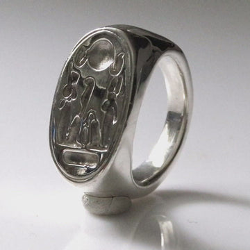 Nefertiti's Ring - Silver