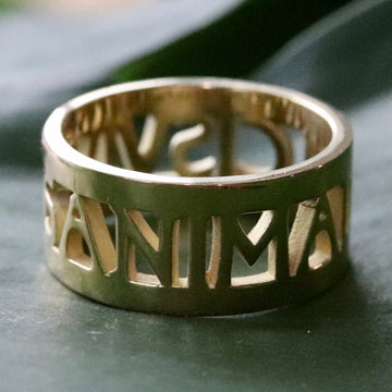 Anima Roman Ring - Gold-Plated