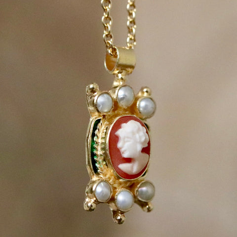 Edwardian Cameo Necklace