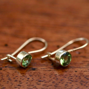 Isadora Peridot Earrings
