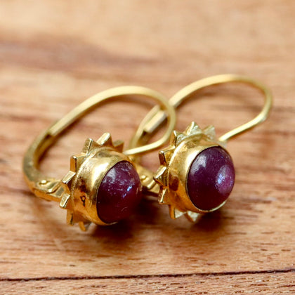 Ruby Rapture Earrings