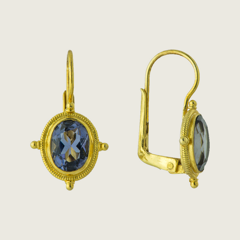 Celebrity Iolite Earring