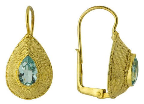 Rubaiyat Topaz Earrings