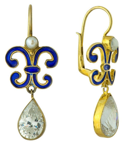 Florentine Crystal Earrings