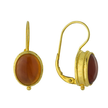 Maharashtra Carnelian Earrings