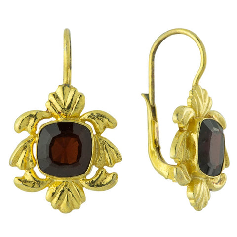 Lancaster Garnet Earrings