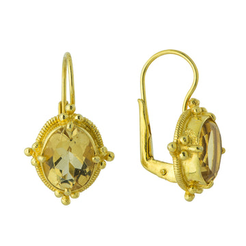 Aurelian Citrine Earrings