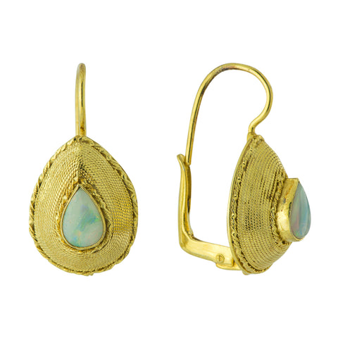 Rubaiyat Opal Earrings