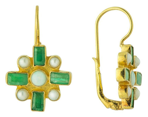 Emerald Chamber Earrings