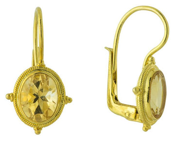 Honor Blake Citrine Earrings