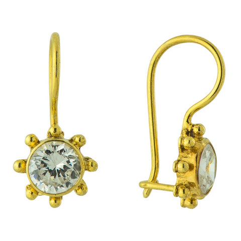 Cubic Zirconia Mariner Earrings