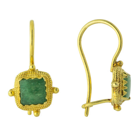 Thessaly Aventurine Earrings