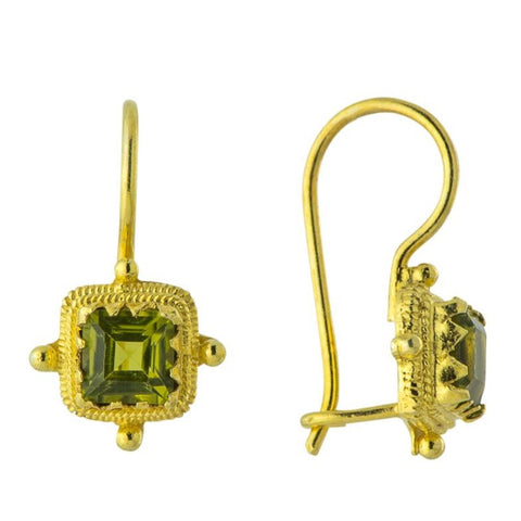 Thessaly Peridot Earrings