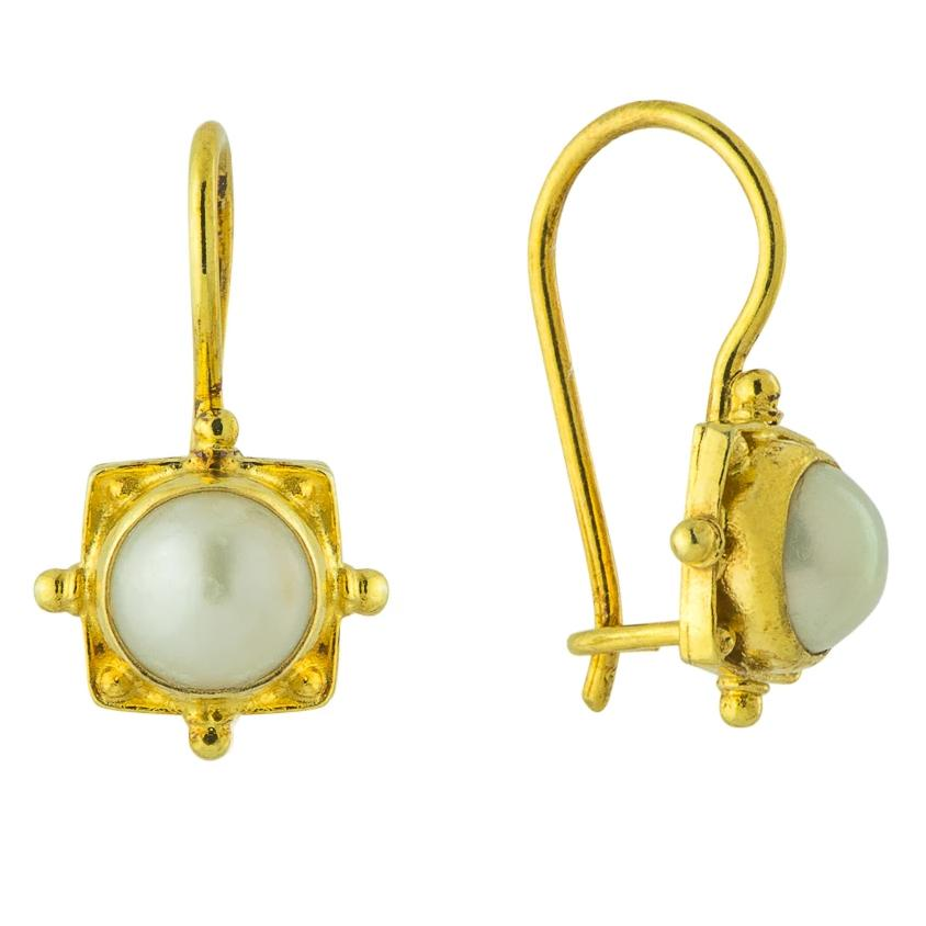 Trudy Trueheart Pearl Earrings