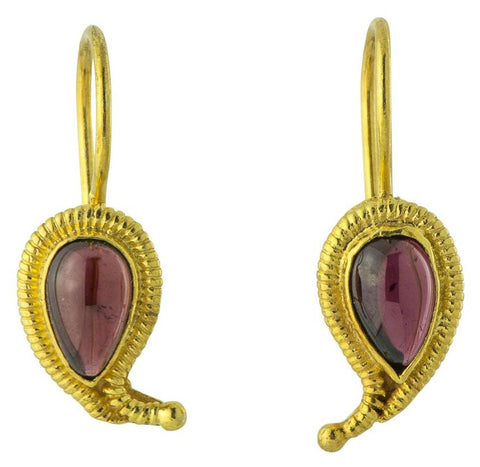 Ananda Garnet Earrings
