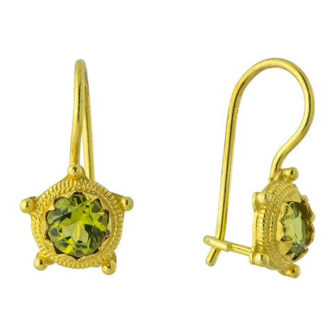 Kore Peridot Earrings