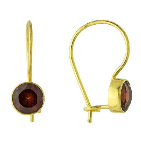 Garnet Midnight Earrings