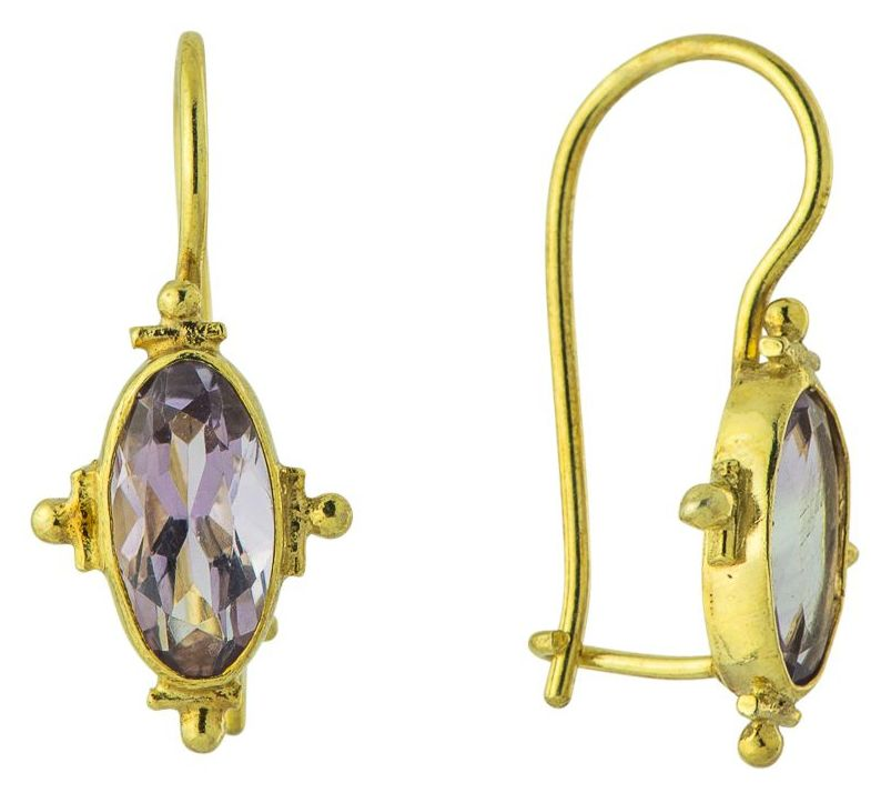 Whitehall Amethyst Earrings