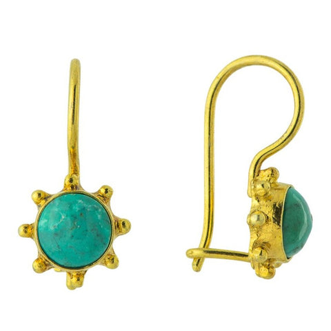 Turquoise Mariner Earrings