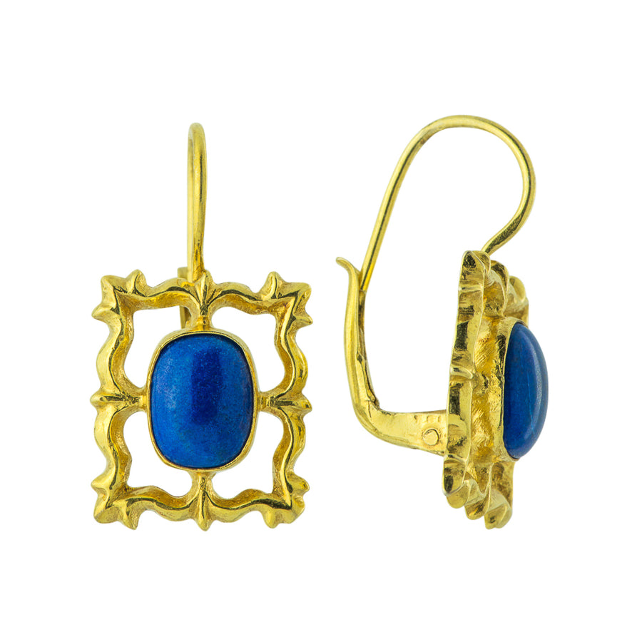 National Gallery Lapis Earrings