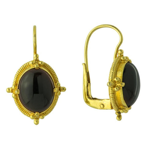 Narcissus Onyx Earrings